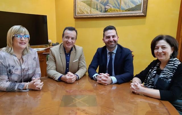 Responsables de Salud y del Ayuntamiento de Maracena.
