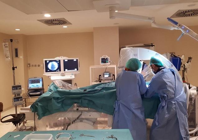 Atención a pacientes en las nuevas instalaciones de Cardiología.