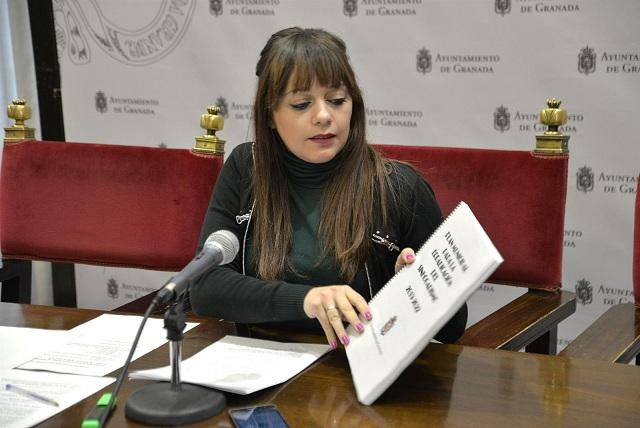 La concejala Jemi Sánchez.