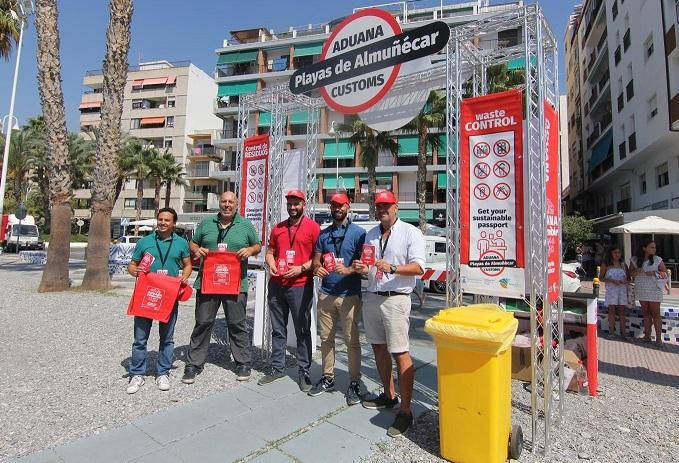 Presentación de la campaña 'Aduana SOStenible'.