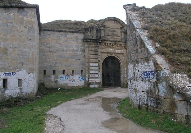 Fuerte de San Cristóbal, en Navarra.