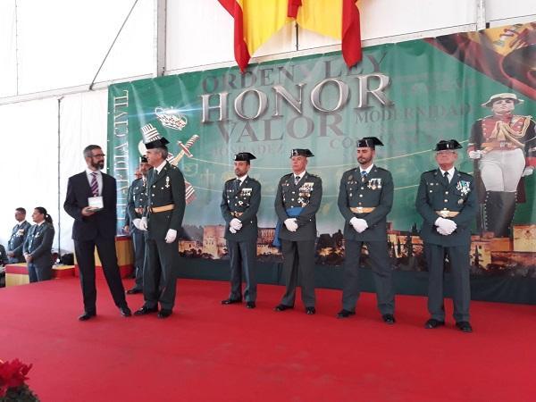 La Guardia Civil ha premiado a dos profesionales del 061.