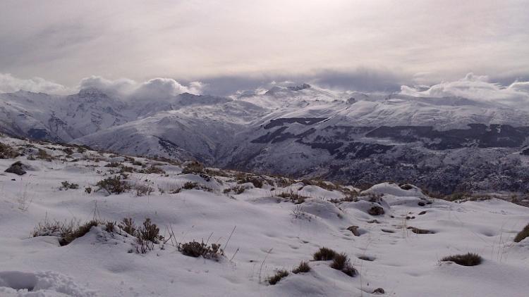 Imagen de la Sierra de Guéjar.