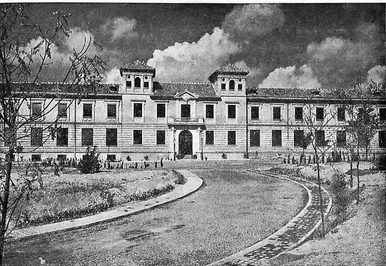 Hospital Virgen de las Nieves, en 1920.