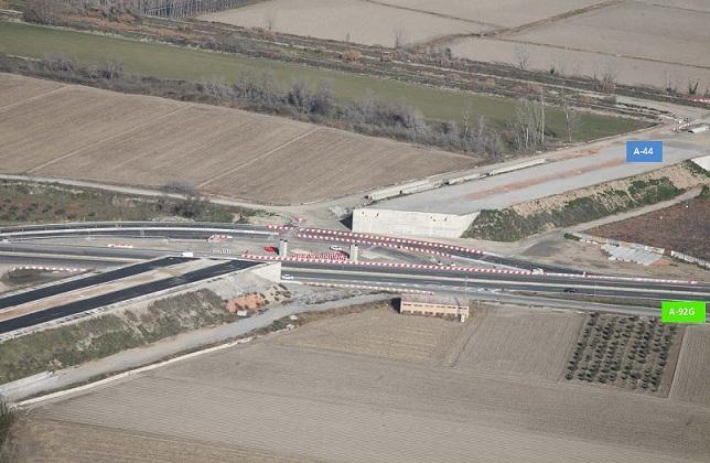 Punto de la carretera de Santa Fe por donde pasará el viaducto de la Segunda Circunvalación.