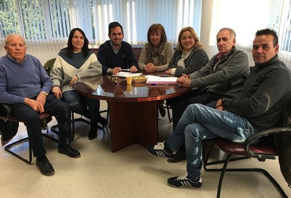 Reunión para preparar la segunda edición de 'Solidaridad entre Montañas'