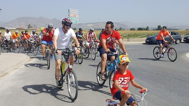 Mucha participación en el Día de la Bicicleta.