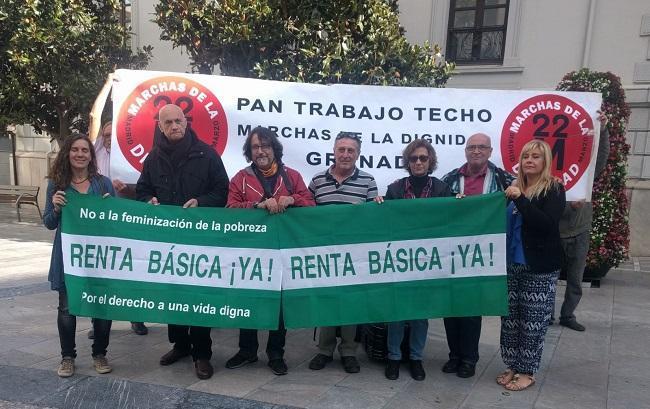 Activistas respaldan la huelga de hambre.