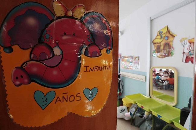 Una escuela infantil.