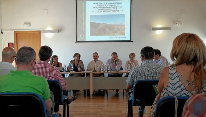 La Junta informa de las actuaciones en la Sierra de Baza.