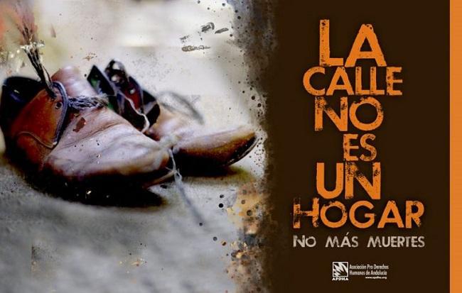 Campaña 'La calle no es un hogar'.