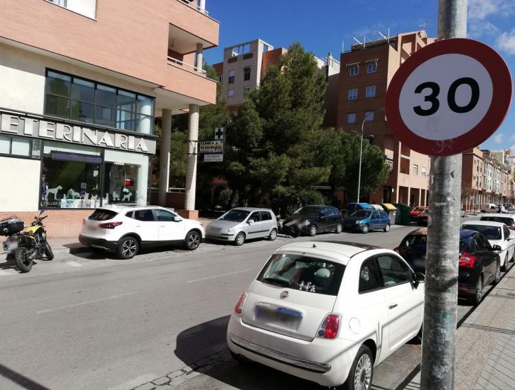 La limitación para circular a 30 kilómetros hora se hará permanente a medio plazo.