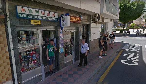 El número se ha vendido en el despacho de la calle Sevilla número 2.