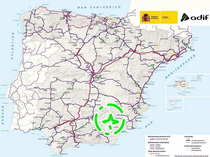 Mapa Ferroviario España 2017.La Asociacion De Amigos Del Ferrocarril De La Comarca De