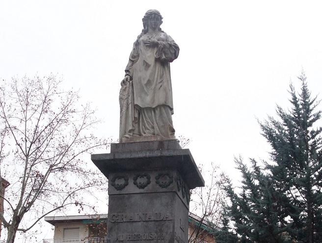 Estatua a Mariana Pineda.