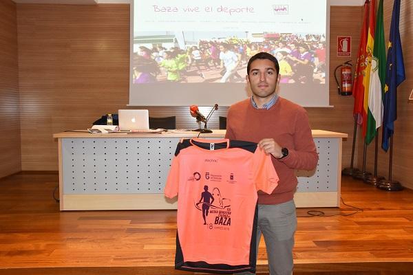 Antonio Vallejo, concejal de Deporte y Juventud de Baza.