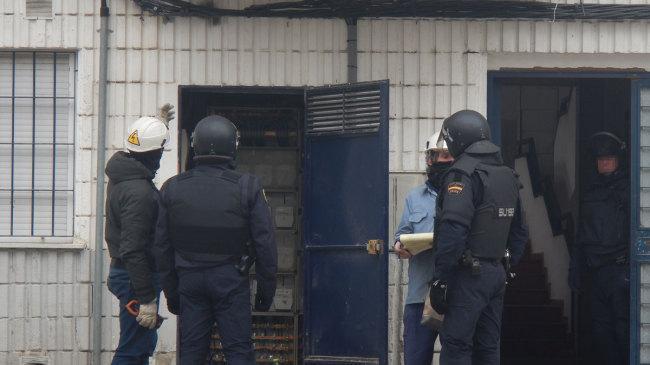 Anterior operación contra los enganches ilegales en Molino Nuevo.