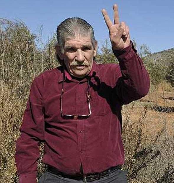 Miguel Montes Neiro, tras salir de prisión.