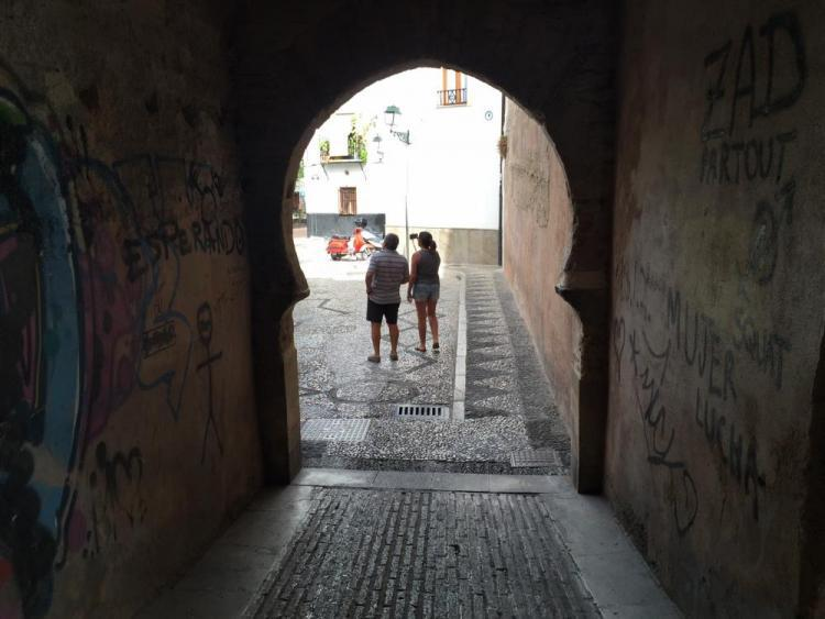 Arco de las Pesas.