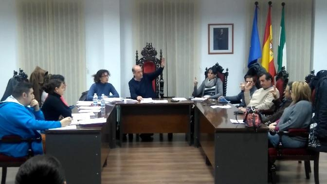 Pleno del Ayuntamiento de Cogollos Vega.