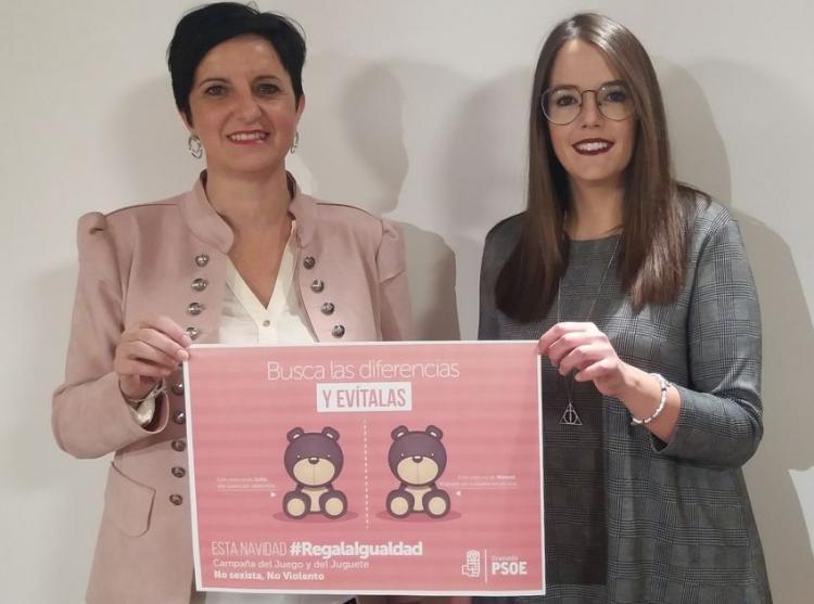 Mercedes Garzón y María Ramírez.