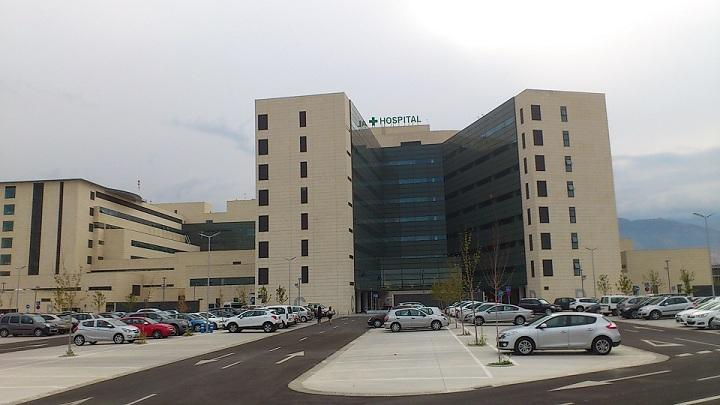 Aparcamiento del hospital del PTS.
