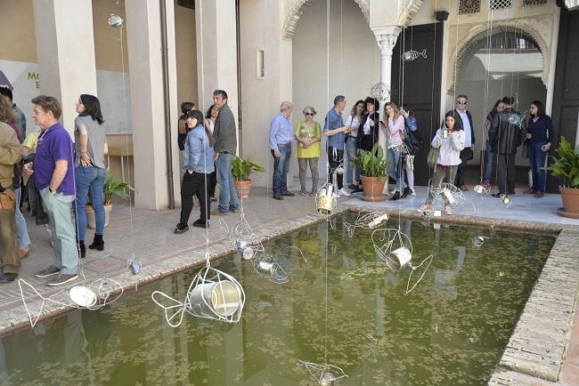 La exposición está instalada en la Casa de Zafra.