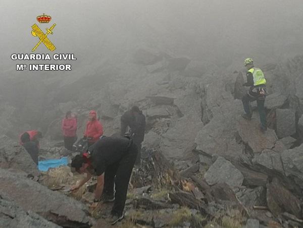 Imagen del rescate.