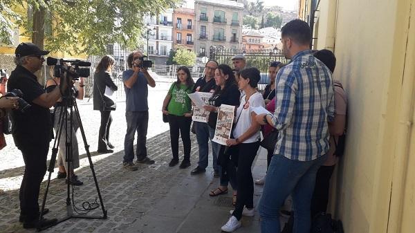 Los colectivos convocantes han informado este miércoles de la movilización.