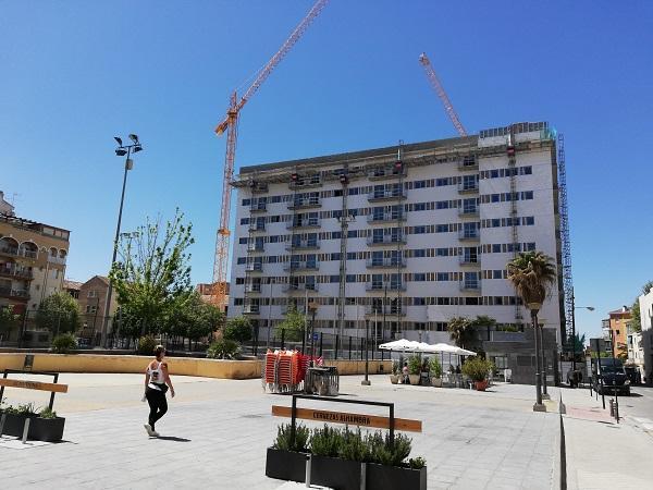 Imagen de las nuevas viviendas de Santa Adela.