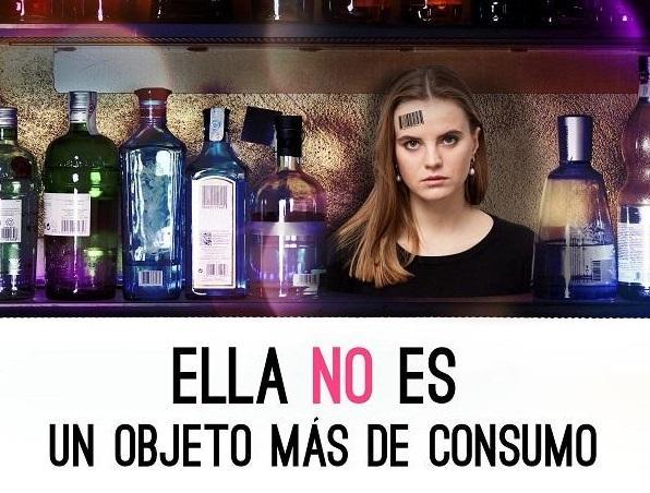 Imagen de la campaña de la Diputación contra la Trata de seres humanos.