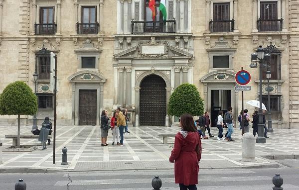 Sede del TSJA y la Audiencia provincial de Granada.