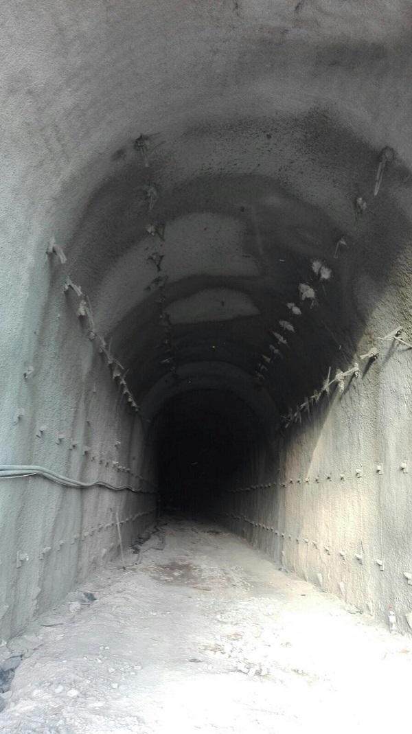Aspecto del túnel de San Francisco de Loja por el que circulará el AVE a Granada.
