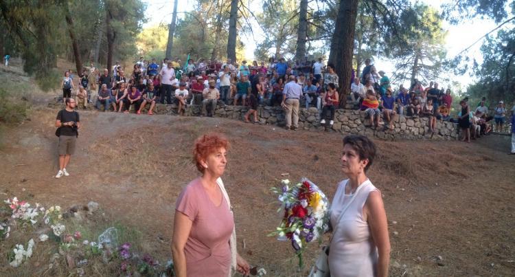 Milagro Almenara Pérez, la boticaria roja asesinada entre Víznar y Alfacar, ha recibido al fin un merecido homenaje.