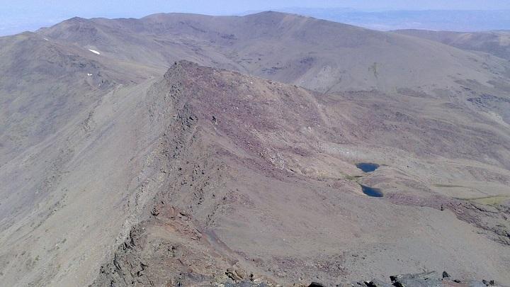 Puntal de Vacares, en una imagen sin nieve, tomada en septiembre.