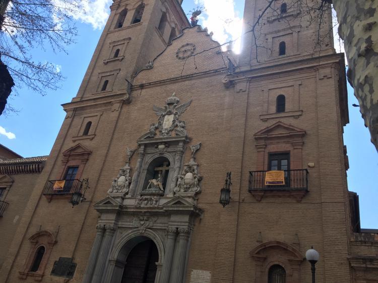 Basílica de la Virgen de las Angustias.