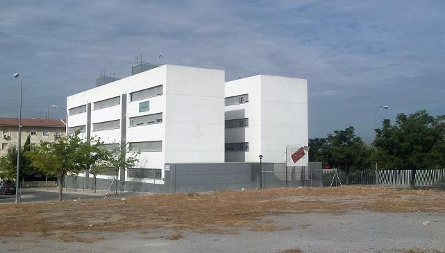 Edificios de alojamientos universitarios de la Junta en Almanjáyar.