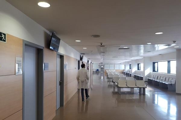 Consultas de Neumología en el Hospital del PTS.