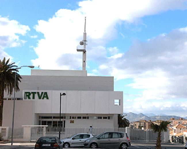 Sede de la RTVA en Granada, en Bola de Oro.