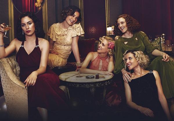Imagen de las protagonistas de Las chicas del cable.