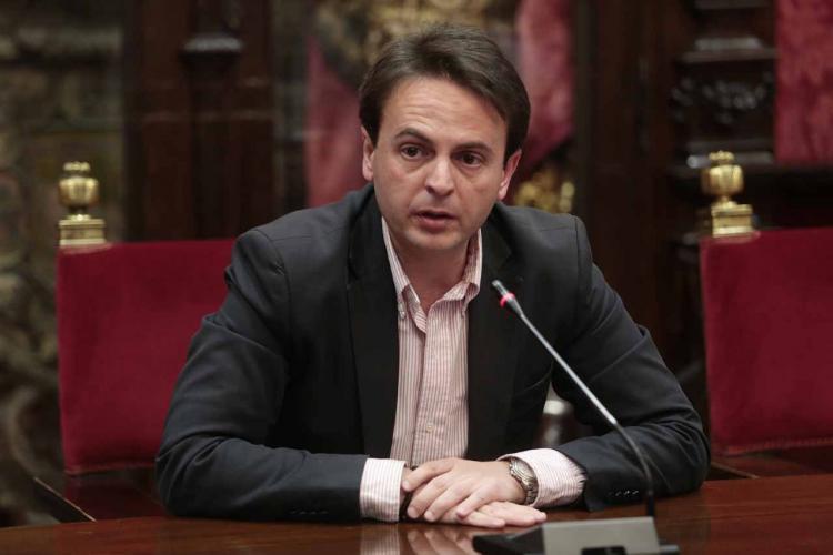 Juan Antonio Fuentes en rueda de prensa.