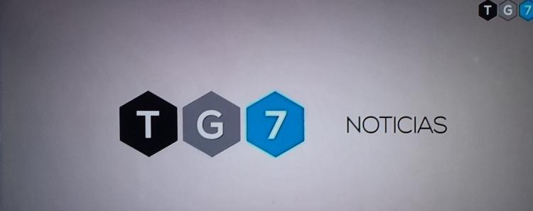 Logotipo indicativo de TG7.
