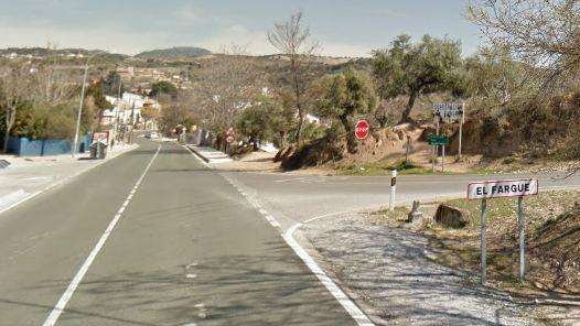 Entrada al barrio de El Fargue.