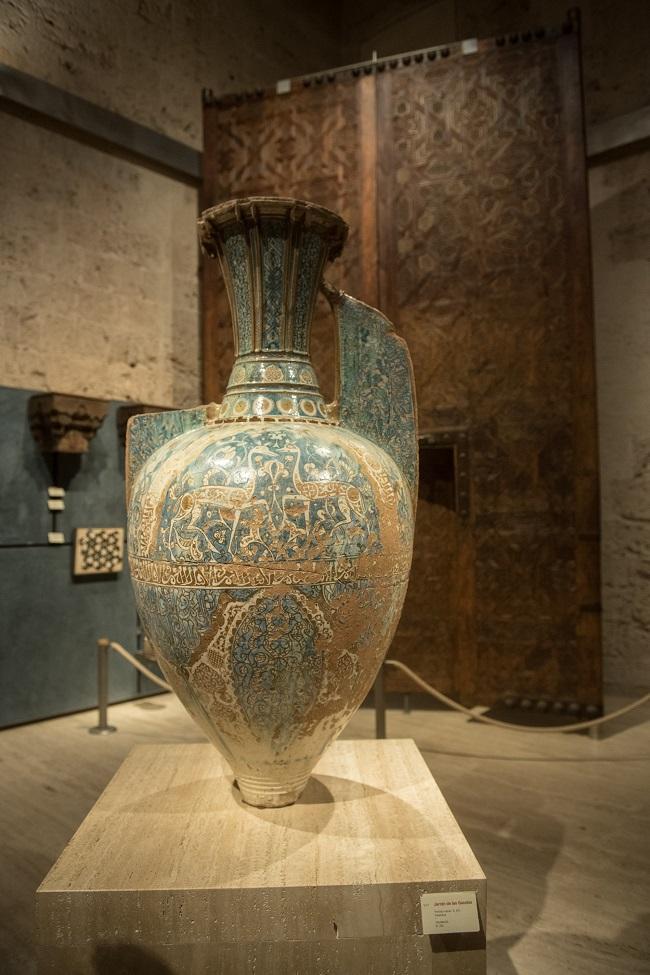 Una de las piezas expuestas en el Museo de la Alhambra, el más visitado.