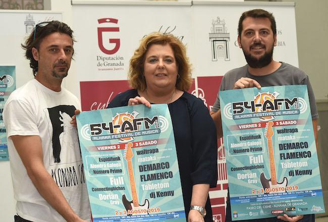 Presentación de la nueva edición del Festival de Alhama.