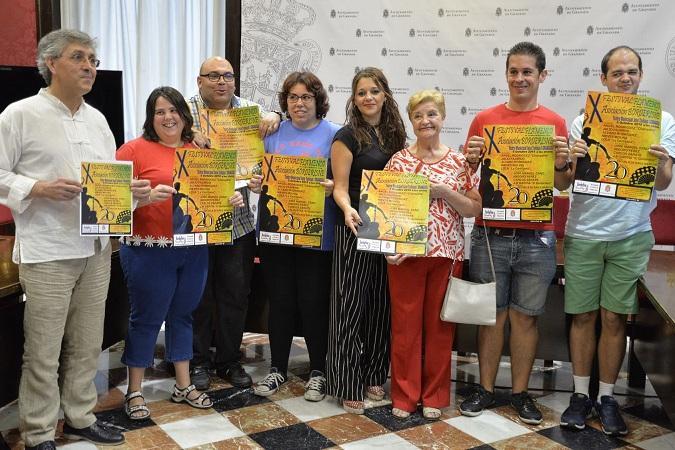 Presentación del festival flamenco solidario.