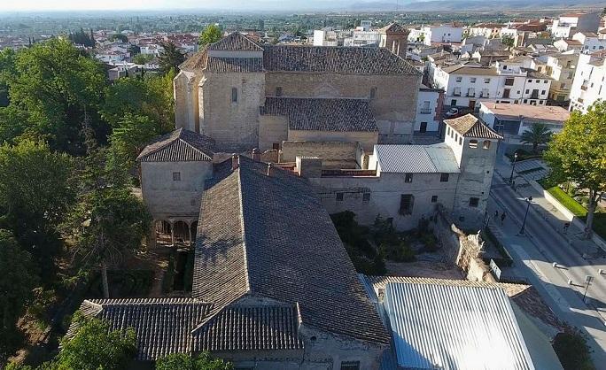 El proyecto prevé reformar el conjunto de huertas, monasterio y Palacio de los Enríquez.