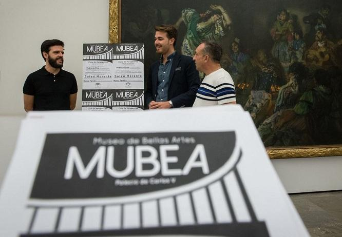 Presentación del ciclo musical en el Museo de Bellas Artes.