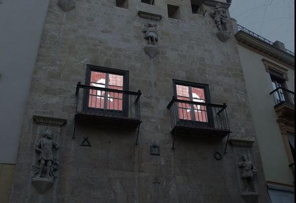 Fachada del Museo Casa de los Tiros.