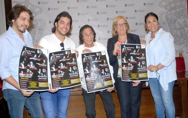 Presentación del ciclo Noches Flamencas en La Chumbera.